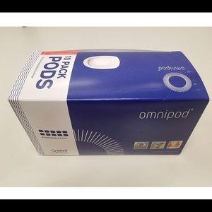 Omnipod pods box of 10